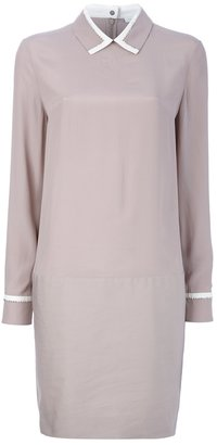 Victoria Beckham Victoria Pointed collar shirt dress