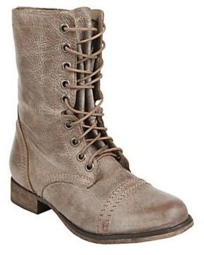 Steve Madden Troopa Lace-Up Boots