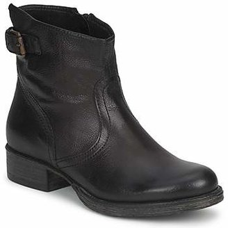 Dream in Green ERFULTE women's Mid Boots in Black