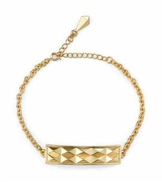Belle Noel by Kim Kardashian Studded Bracelet in Yellow Gold