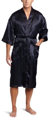 Majestic International Men's Shaynes Satin Kimono