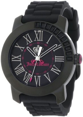Juicy Couture Women's 1900735 BFF Black Jelly Strap Watch $189.95 thestylecure.com