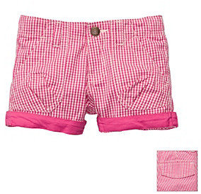Osh Kosh OshKosh BGosh Girls' 4-6X Pink Gingham Woven Short