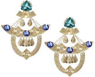 Asos Premium Shamen King Clip On Earrings