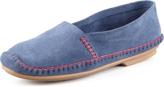 Jacques Levine Davies Topstitched Moccasin