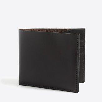J.Crew Leather billfold wallet