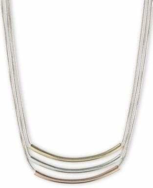 Nine West Three Bar Pendant Necklace
