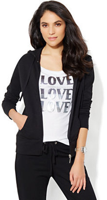 New York & Co. Love, NY&C Collection - Bling Hooded Jacket