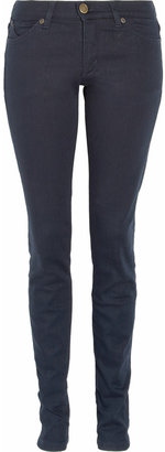 Superfine Liberty mid-rise skinny jeans