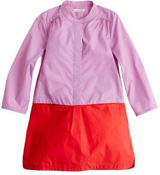 J.Crew Girls' colorblock poplin dress