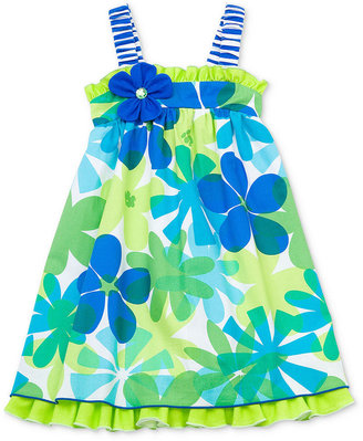 Rare Editions Girls Dress, Little Girls Floral Sundress