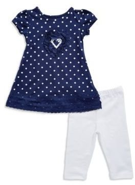 Flapdoodles Baby Girls Two Piece Tunic Set