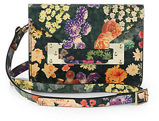 Sophie Hulme Floral-Printed Mini Envelope Convertible Clutch