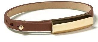 Banana Republic Leather skinny bracelet