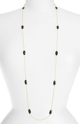 Women's Kendra Scott 'Kelsie' Station Necklace (Nordstrom Exclusive) $95 thestylecure.com