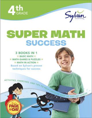 Random House Fourth Grade Super Math Success