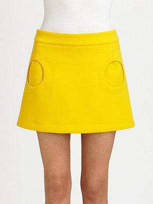 Michael Kors Circle Pocket Mini Skirt