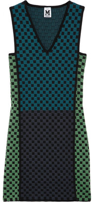 M Missoni Checked knitted dress