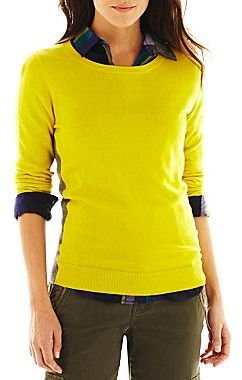 JCPenney jcpTM Crewneck Sweater