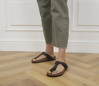 Birkenstock Gizeh Toe Thong Footbed Black