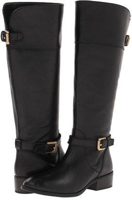 Lauren Ralph Lauren Melora (Black/Black Burnished/Calf Burnished) - Footwear