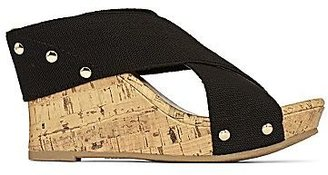 JCPenney a.n.a® Solid Lexi Wedge Sandals