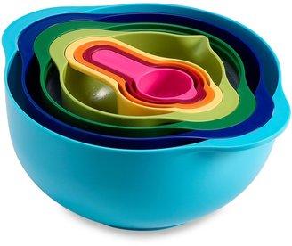 Joseph Joseph 8-Piece Multicolor Nesting Mixing Bowl and Measuring Set