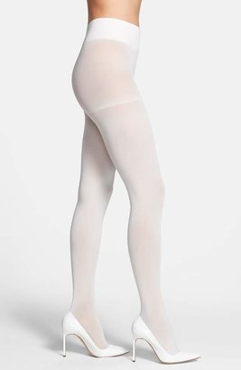 8fd988eafb2 White Opaque Tights - ShopStyle Canada