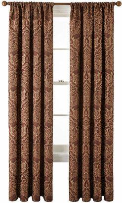 ROYAL VELVET Royal Velvet Vance Rod-Pocket Lined Curtain Panel