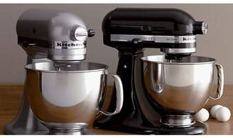 Crate & Barrel KitchenAid Artisan Onyx Black Stand Mixer