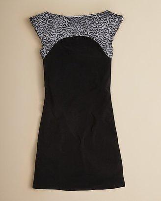 Un Deux Trois Girls' Sequin Knit Dress - Sizes 7-16