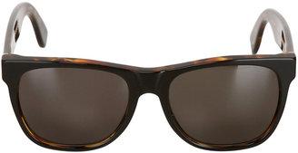 Super Classic 55 Havana Black Sunglasses