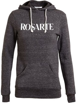 Rodarte Rosarte Cotton-Blend Hooded Sweatshirt