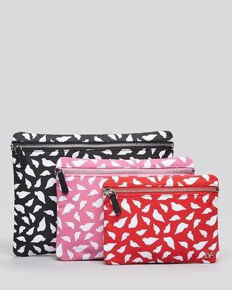 Diane von Furstenberg Cosmetic Case Set - 3 Pouches