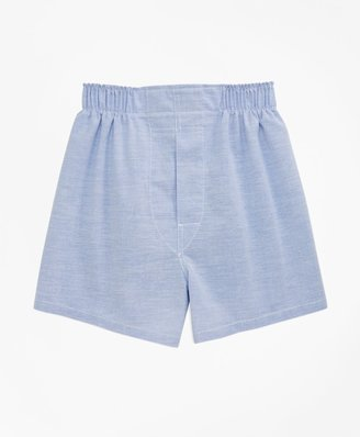 Brooks Brothers Boys Oxford Full Cut Boxers