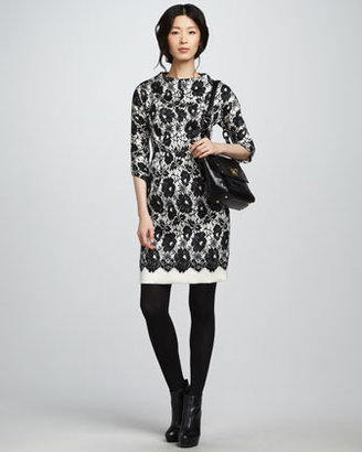 Milly Aurora Lace Dress