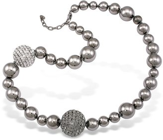 A-Z Collection Mirror Polished Ball Necklace