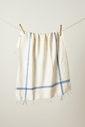 Anthropologie Cayo Fringed Dishtowel