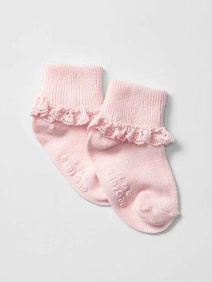 Gap Favorite eyelet socks