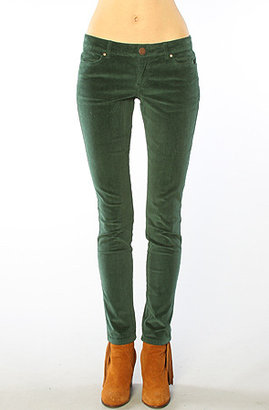 O'Neill The Sophie Corduroy Skinny Pants in Pine