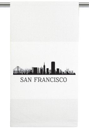 Mariasch Studios San Fransisco Skyline Kitchen Towel