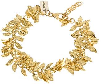 K. Amato Golden Leaves Bracelet