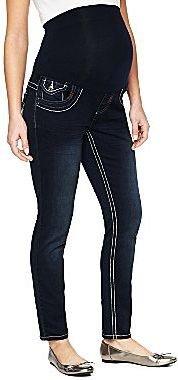 JCPenney Tala Maternity Overbelly Back Flap-Pocket Skinny Jeans