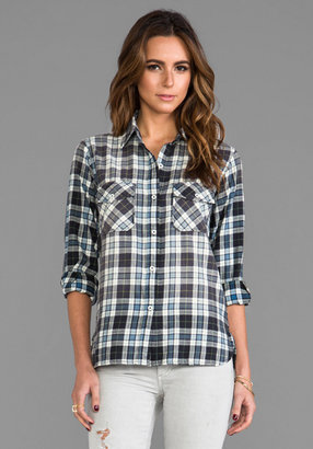Current/Elliott The Perfect Shirt Without Epaulettes