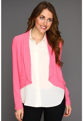 BB Dakota Arlene Blazer (Hot Pink) - Apparel