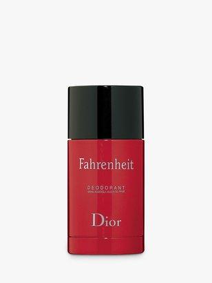 Christian Dior Fahrenheit Alcohol Free Deodorant Stick, 75ml