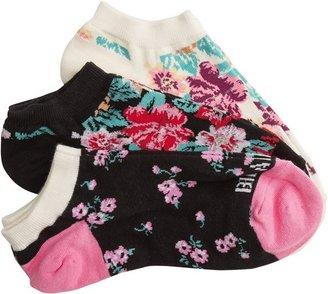 Billabong Fancy Dants No Show Sock 3 Pack