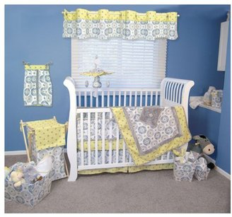 Trend Lab Monaco 4 Piece Crib Bedding Set