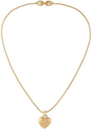 Susan Caplan Vintage 1980s Vintage Givenchy Heart Pendant