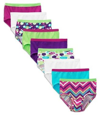 Fruit of the Loom Girls' 9 +2 Free Cotton Brief - Assorted